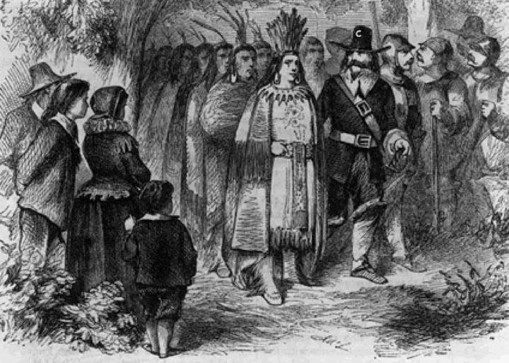 Pilgrim Cub Fans at Thankgsiving