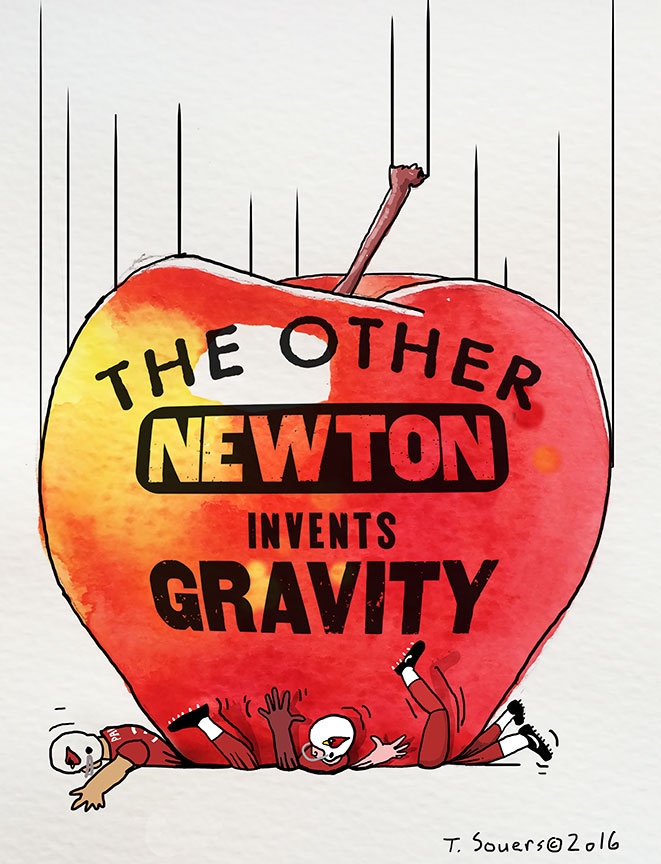 Cam-Newton-gravity