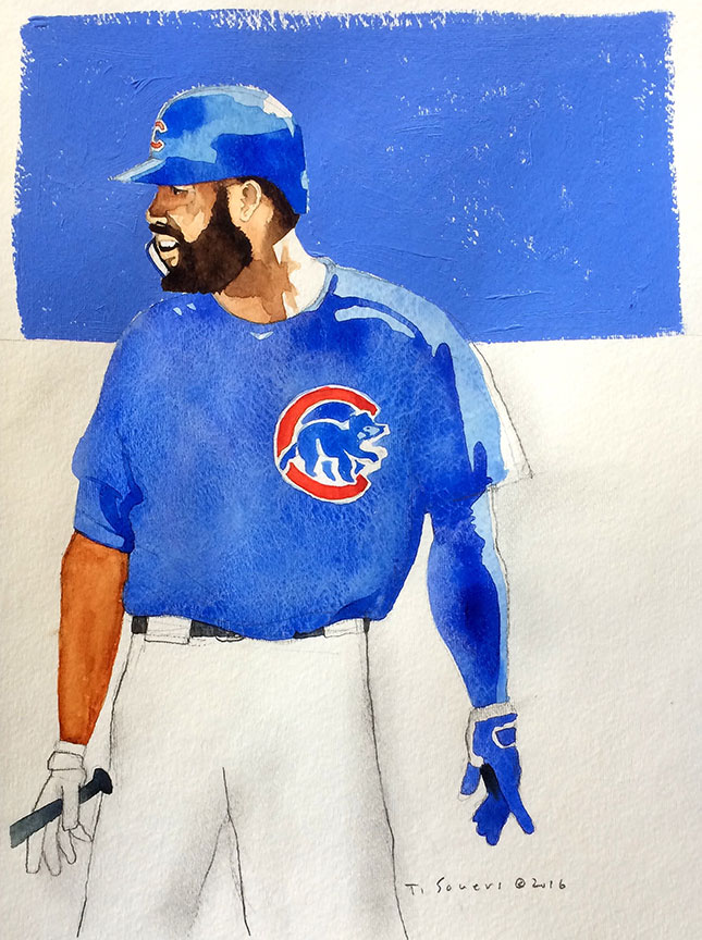 #Cubs-Portrait-Series,-Jason-Heyward