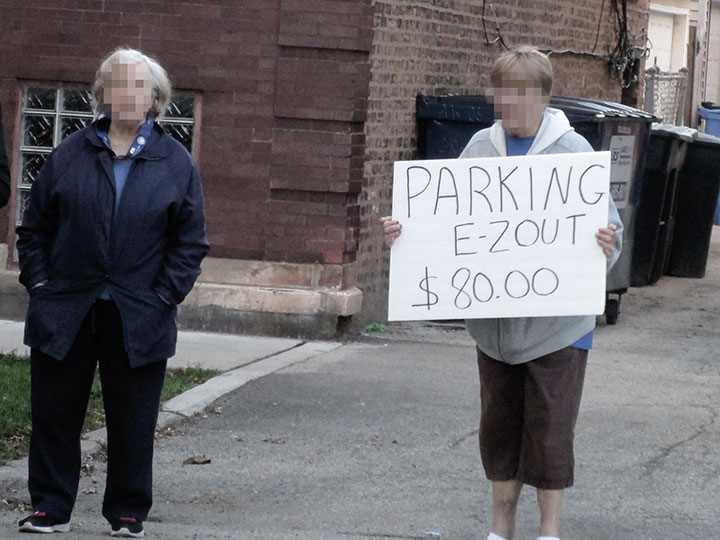 Parking-at-Wrigley-Alley