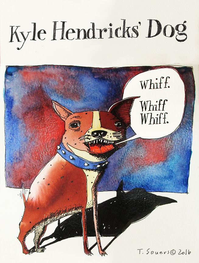 Kyle-Hendricks'-Dog