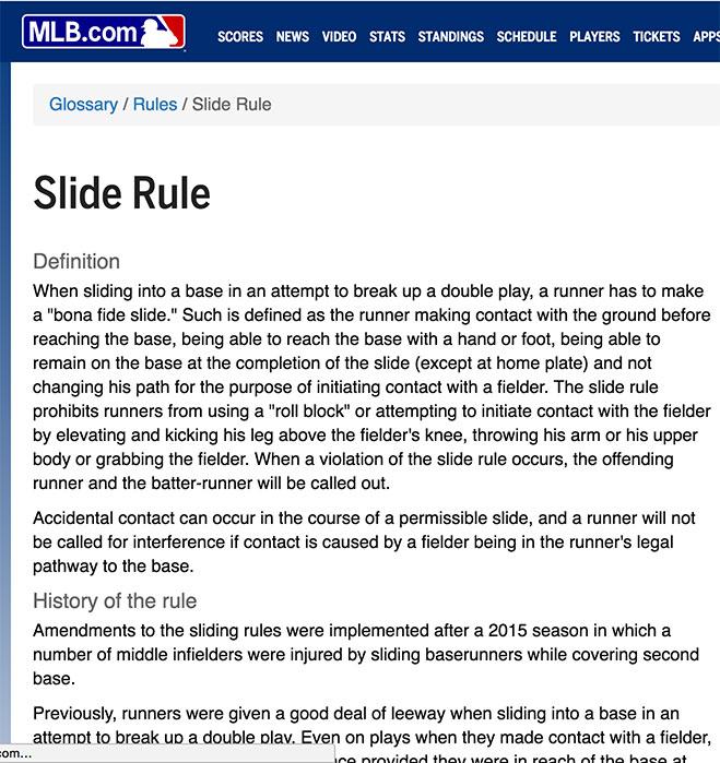 Slide-rule
