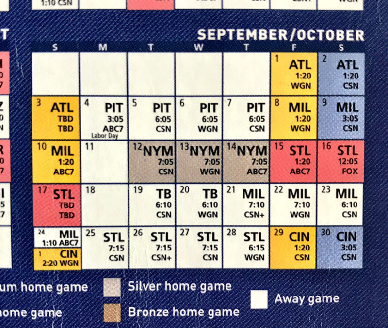 Cubs-Schedule-Sept-'17