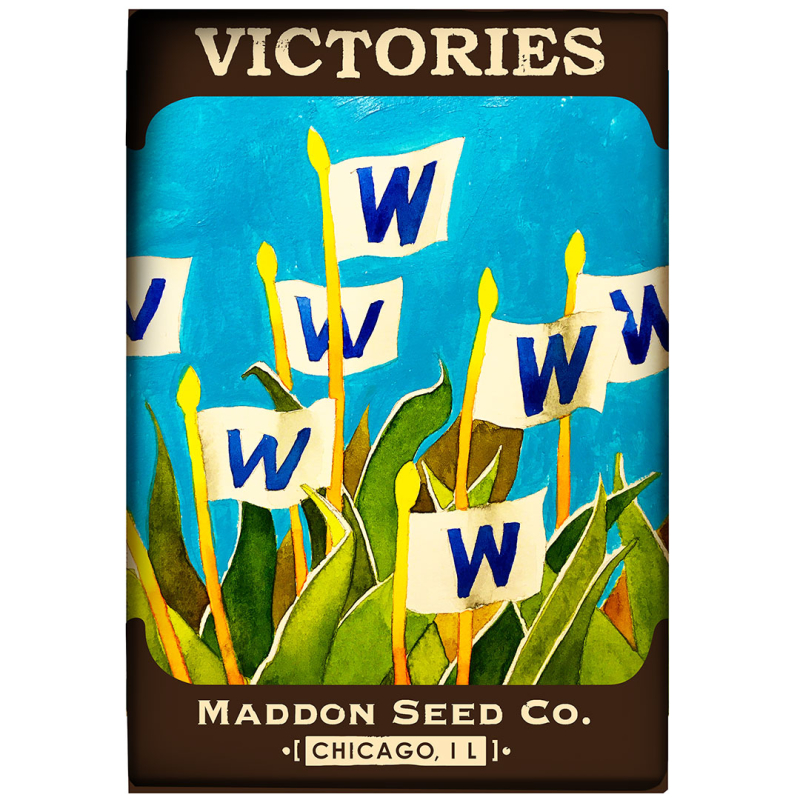Victory-Seeds -Chicago-Cubs