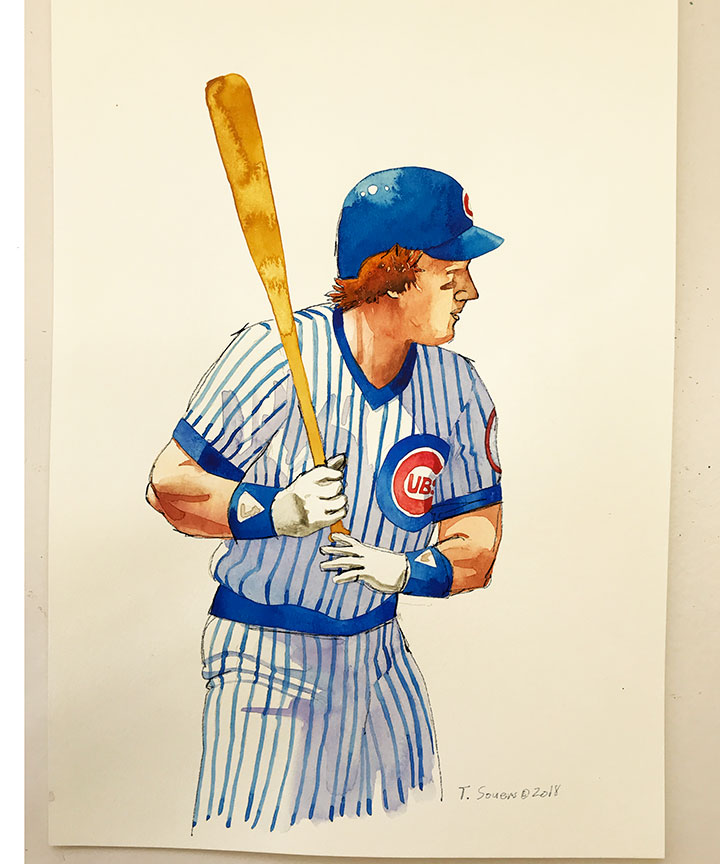 Keith-Moreland -Chicago-Cubs