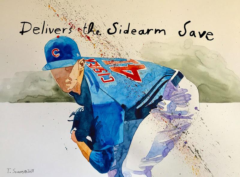 Steve-Cishek -Chicago-Cubs -Sidearm-Save