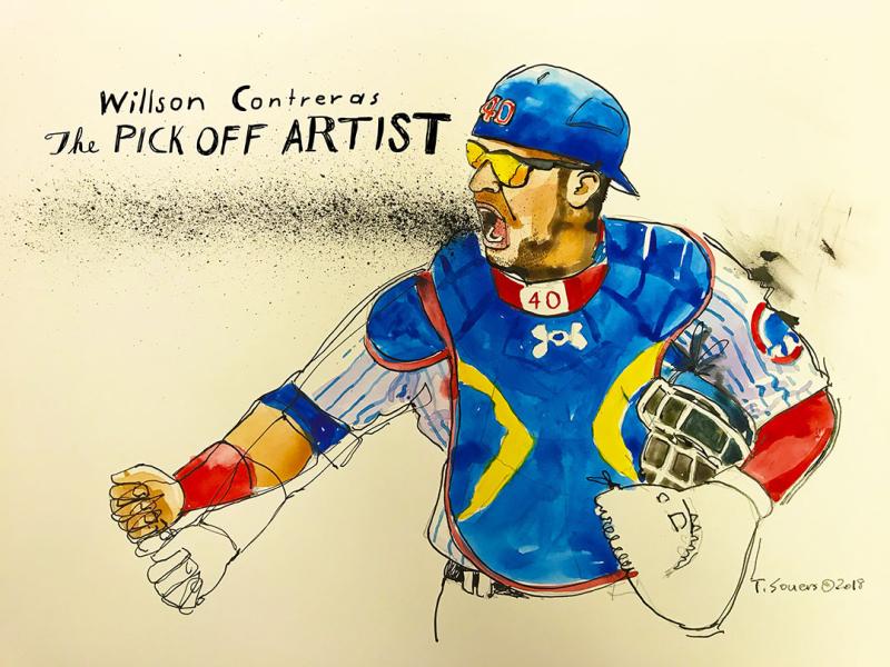 Willson-Contreras-Pick-Off-Artist