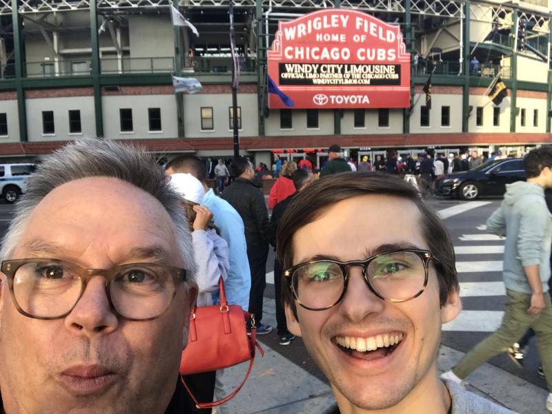 Wrigley Selfie
