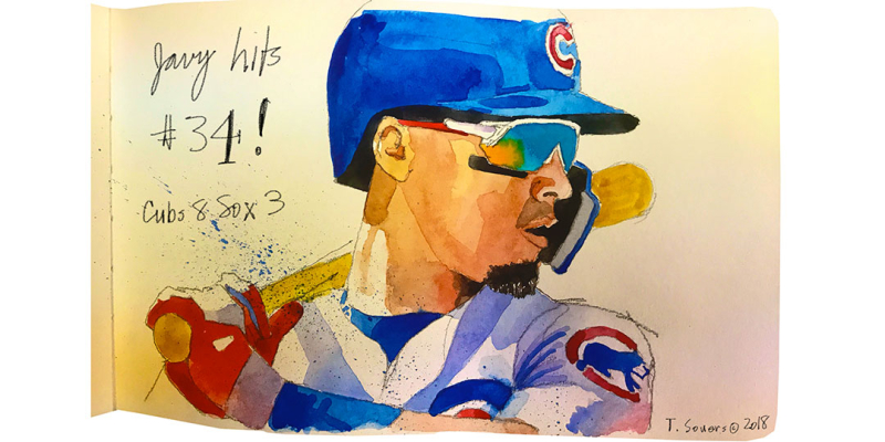 Javier-Baez-Homers-2018-illustration
