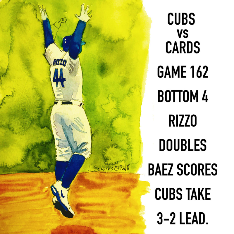 f5def09ed08 Cubs win Game 162. On to Game 163. - Cubby-Blue