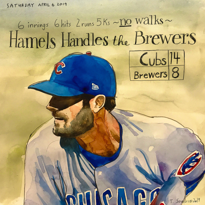 Cole-Hamels-#cubs-14-#Brewers-8.insta