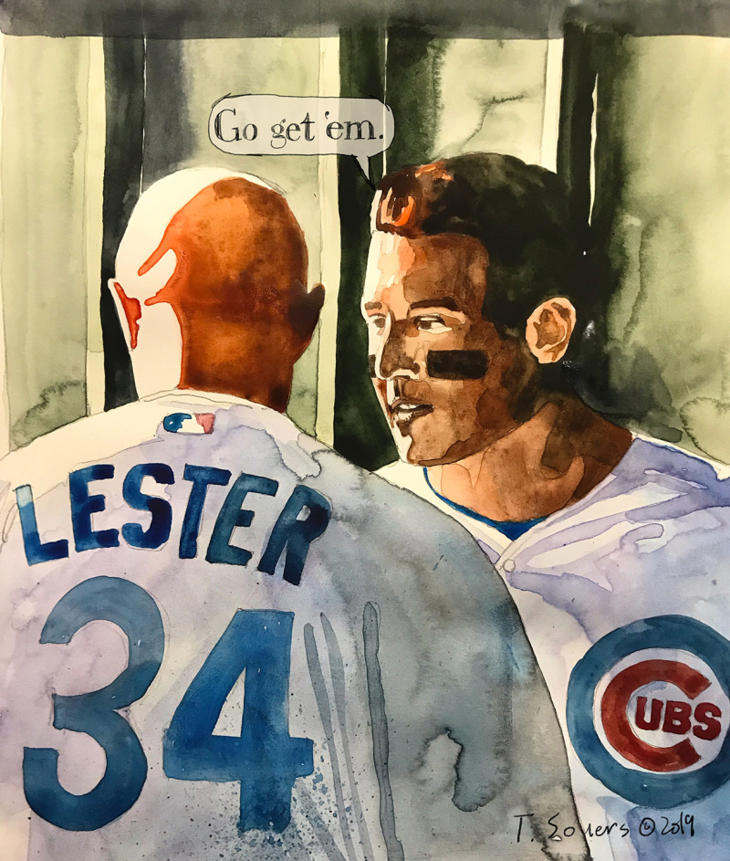 Jon-Lester-returns -Anthony-Rizzo-#Cubs