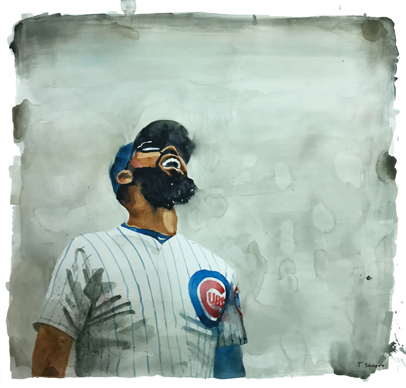 Jason-Heyward-laughing -Cubs