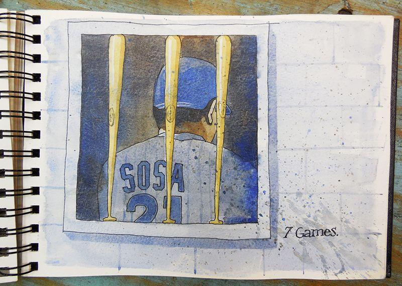 Sammy Sosa in Corked Bat Jail