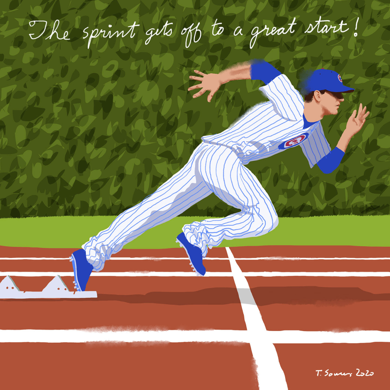 Kyle-Hendricks-Sprints