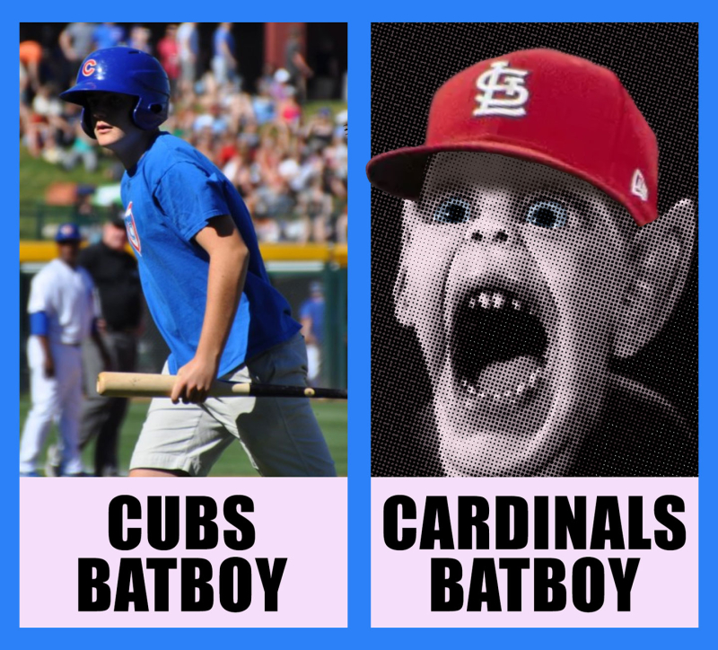 Cubs-Batboy-&-Cardinals-Batboy