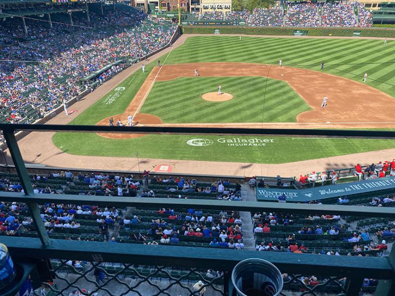 Section-323-row-1-seat-3-wrigley-field