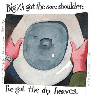 Dryheaves
