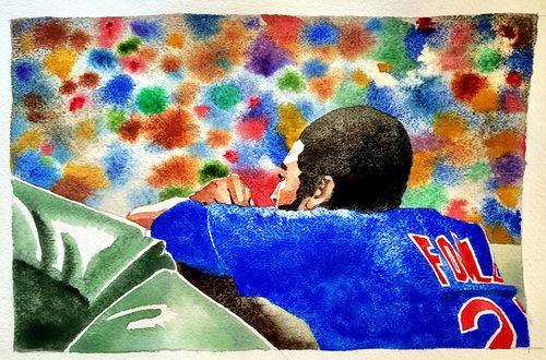 #Cubs Portrait Series, Dexter Fowler