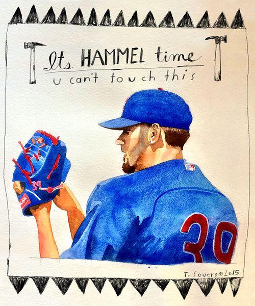 Cubs-portrait-series,-Jason-Hammel
