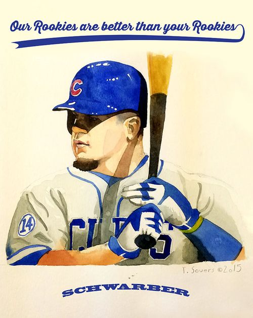 #Cubs Portrait Series-Kyle Schwarber
