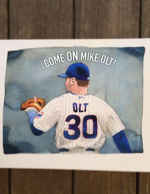 #Cubs portrait series, Mike Olt
