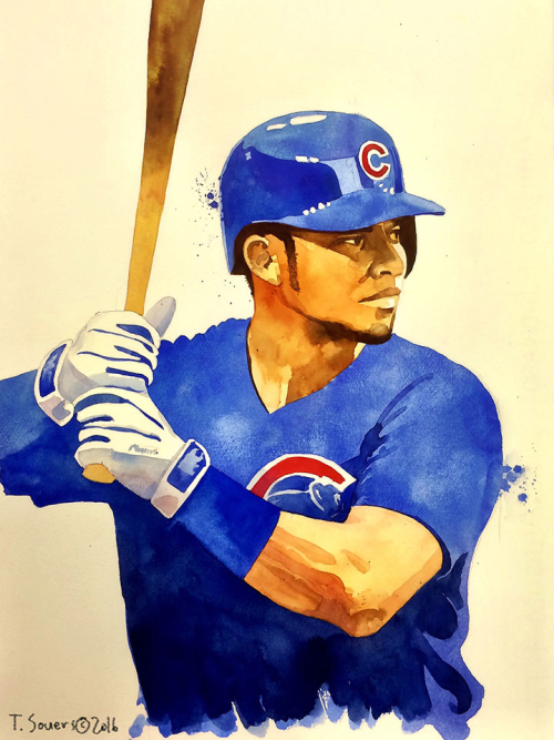 Cubs-portrait-series,-Willson-Contreras