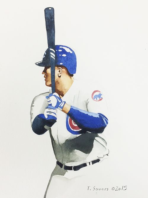 #Cubs Portrait Series,Anthony Rizzo