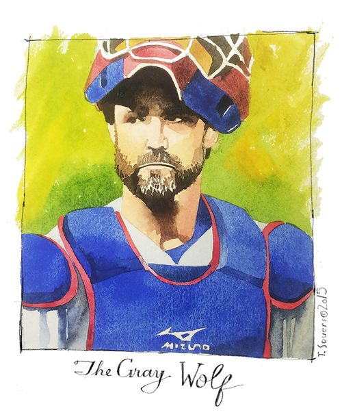 Dave Ross, #Cubs, The Gray Wolf