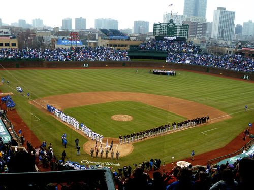 2011.Wrigley Field Opening Day